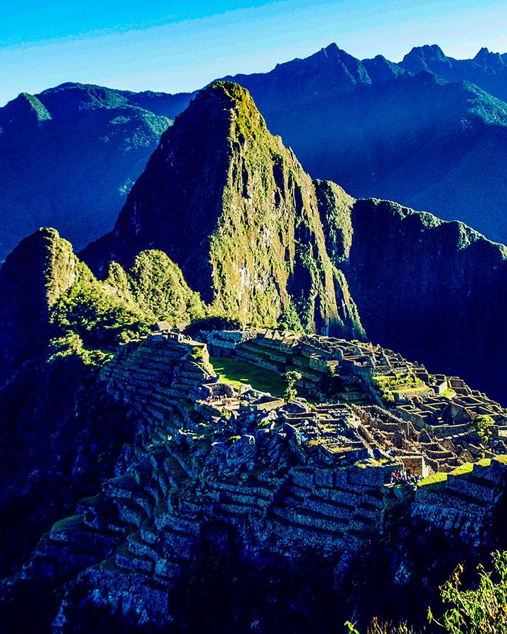 Machu Picchu Blue, Peru